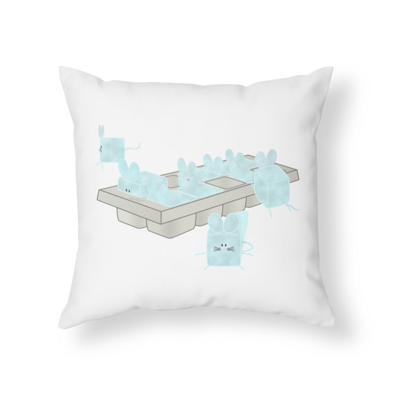 Micecubes Home Throw Pillow by Eriklectric's Artist Shop