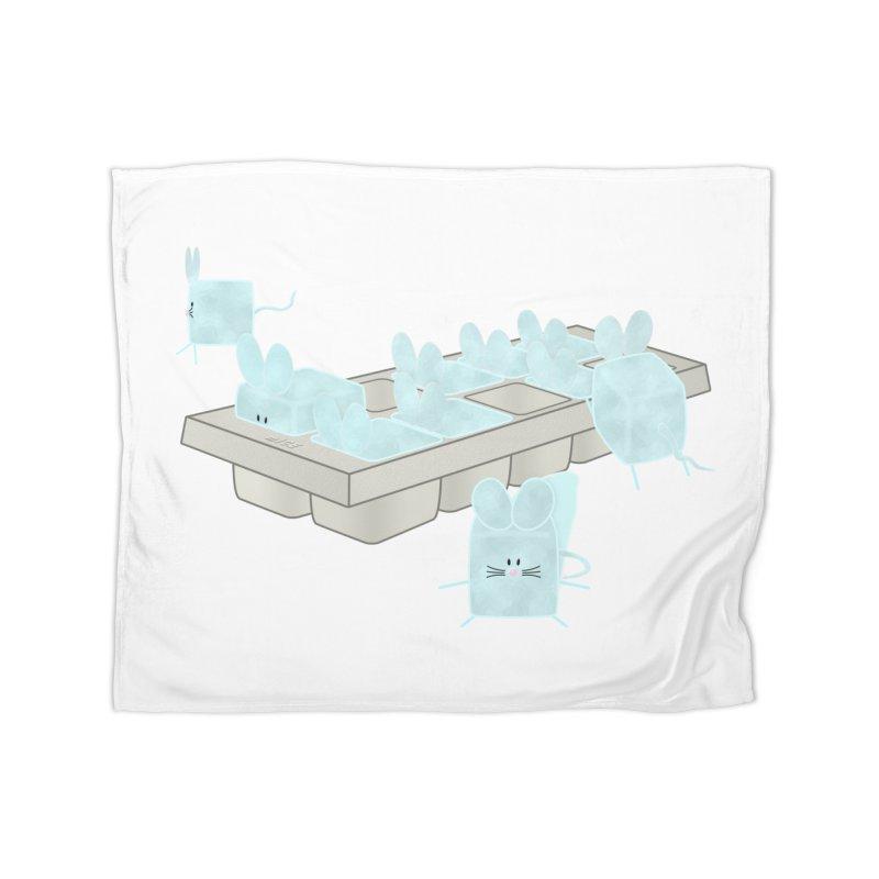 Micecubes Home Fleece Blanket Blanket by Eriklectric's Artist Shop