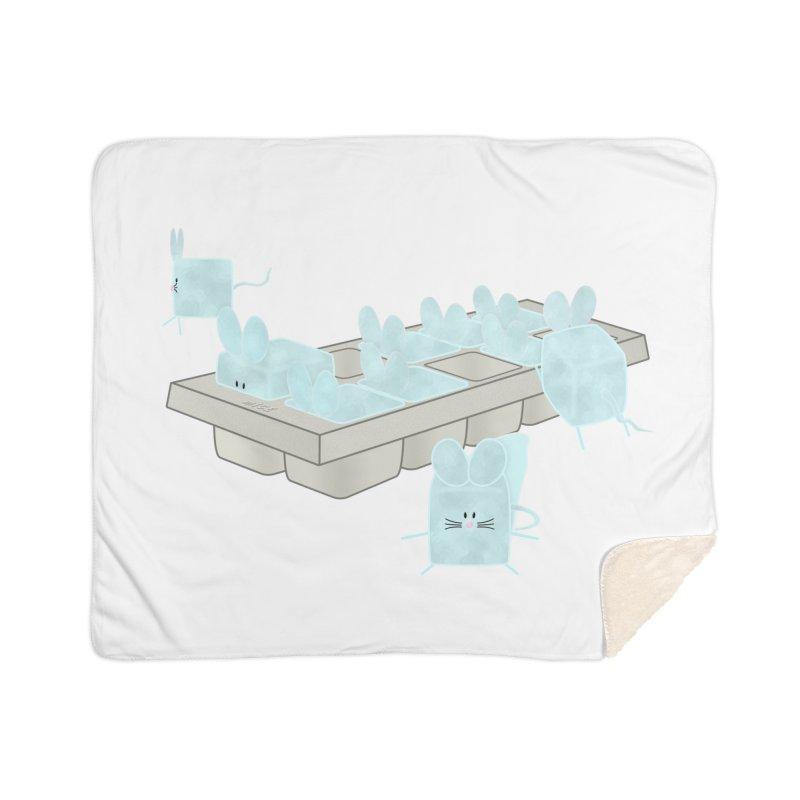 Micecubes Home Sherpa Blanket Blanket by Eriklectric's Artist Shop