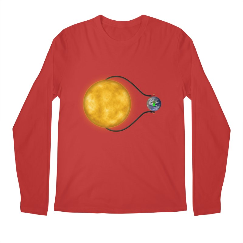 Solar Power Men's Longsleeve T-Shirt by Eriklectric's Artist Shop