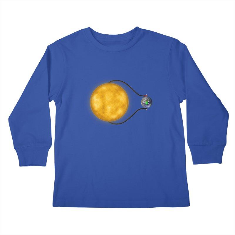 Solar Power Kids Longsleeve T-Shirt by Eriklectric's Artist Shop