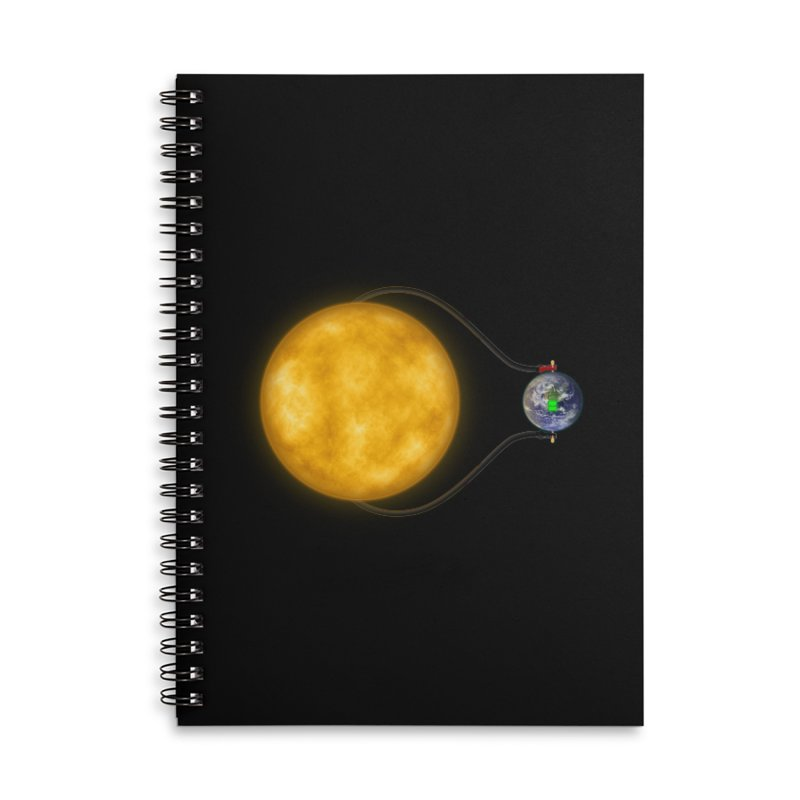 Solar Power Accessories Notebook by Eriklectric's Artist Shop