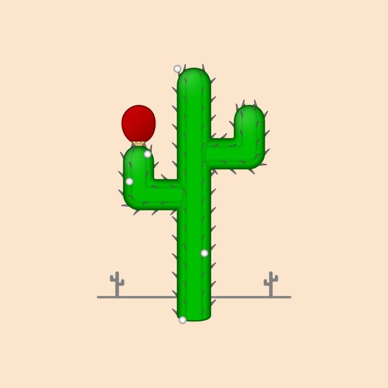 Cactus Makes Perfect None  by Eriklectric's Artist Shop
