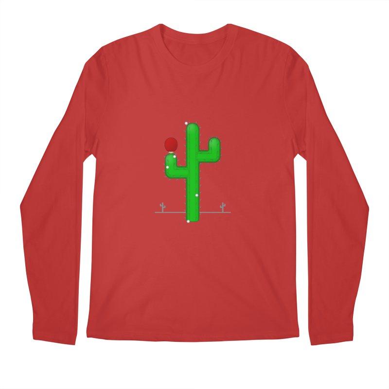Cactus Makes Perfect Men's Longsleeve T-Shirt by Eriklectric's Artist Shop