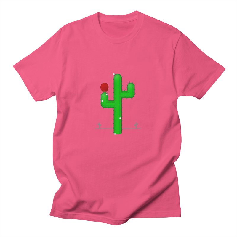 Cactus Makes Perfect Men's T-Shirt by Eriklectric's Artist Shop