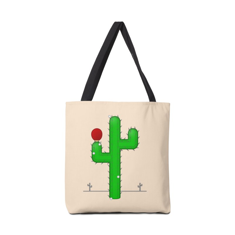 Cactus Makes Perfect Accessories Bag by Eriklectric's Artist Shop