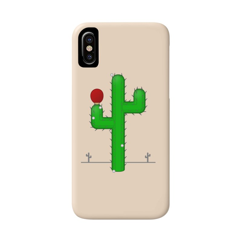 Cactus Makes Perfect Accessories Phone Case by Eriklectric's Artist Shop