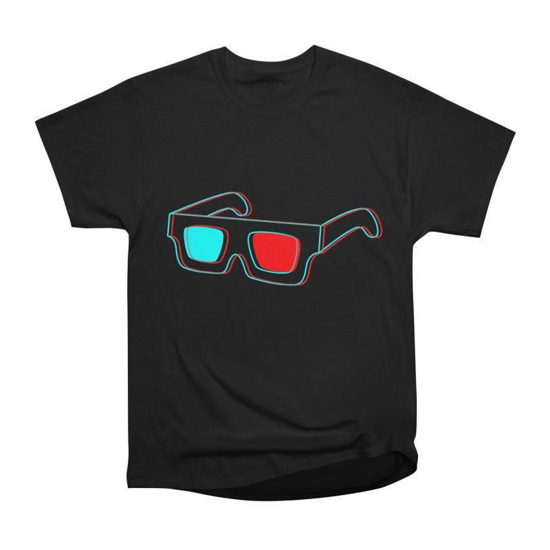 3D Glasses Men's Classic T-Shirt by Eriklectric's Artist Shop