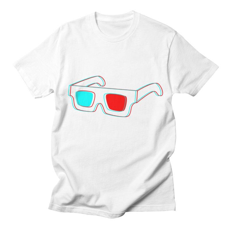 3D Glasses Women's Unisex T-Shirt by Eriklectric's Artist Shop