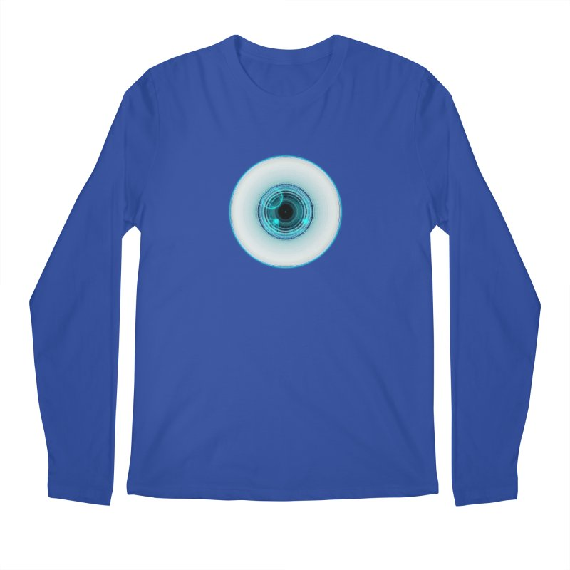 c_eye_bernetic Men's Longsleeve T-Shirt by Eriklectric's Artist Shop