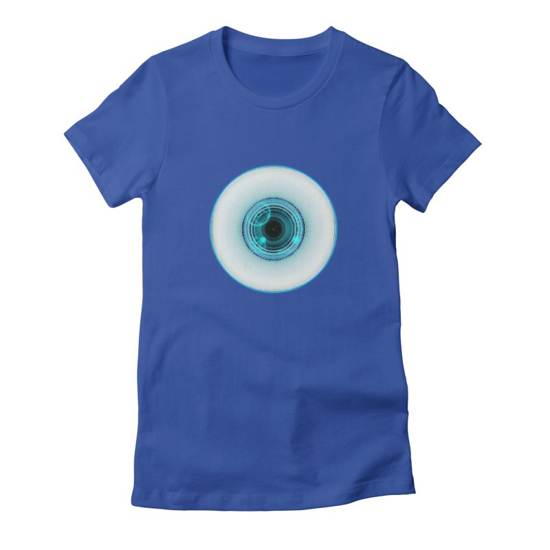 c_eye_bernetic Women's Fitted T-Shirt by Eriklectric's Artist Shop