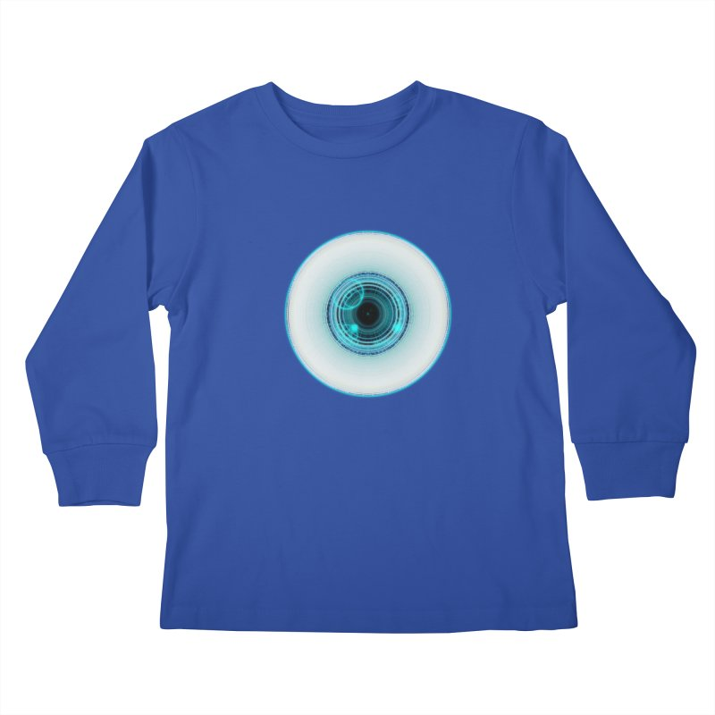 c_eye_bernetic Kids Longsleeve T-Shirt by Eriklectric's Artist Shop
