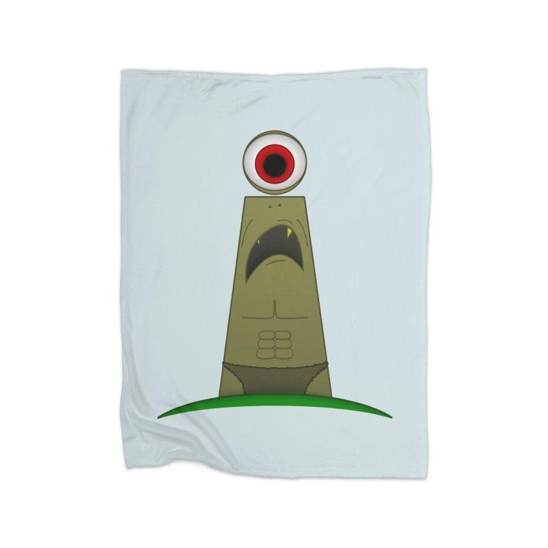 i-clops Home Blanket by Eriklectric's Artist Shop