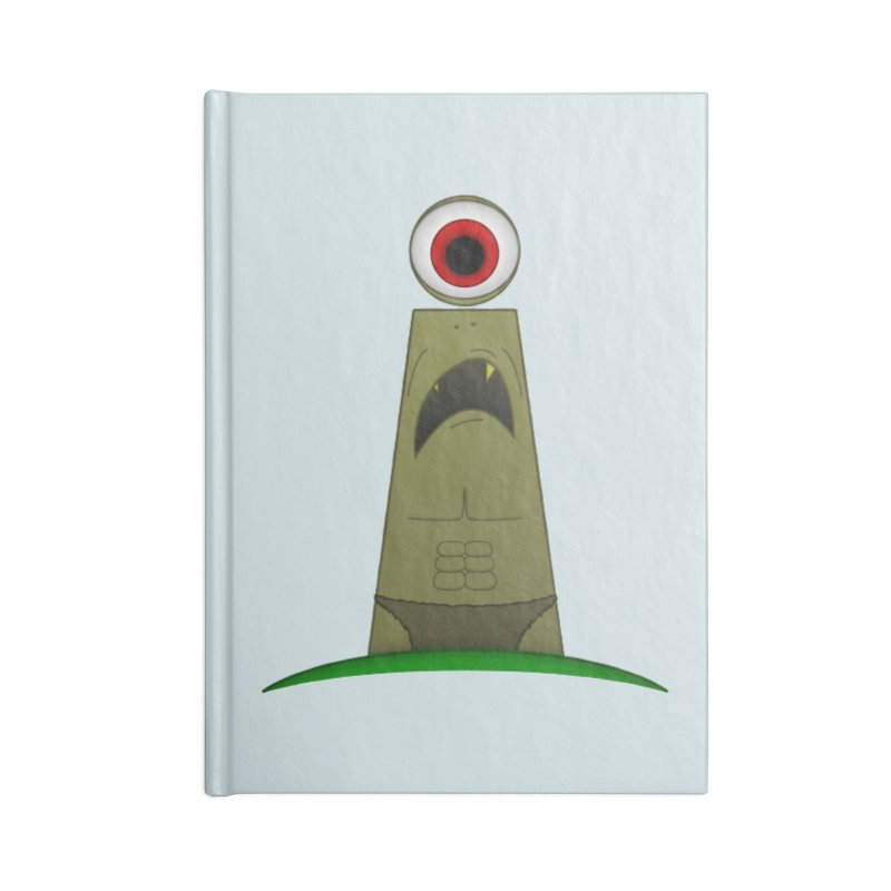 i-clops Accessories Notebook by Eriklectric's Artist Shop