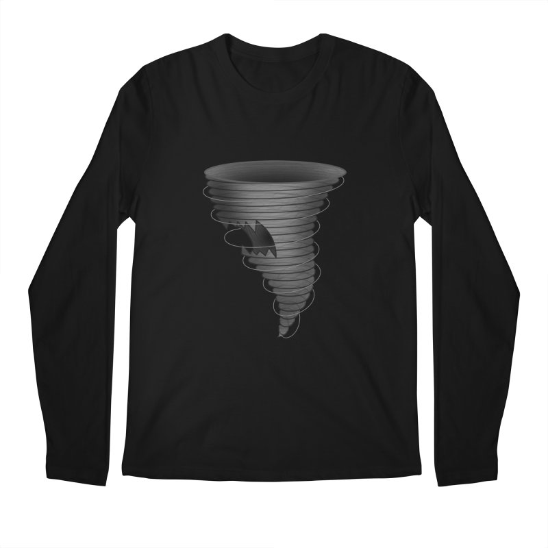 Predatornado Men's Longsleeve T-Shirt by Eriklectric's Artist Shop