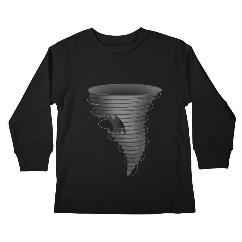 Predatornado Kids Longsleeve T-Shirt by Eriklectric's Artist Shop
