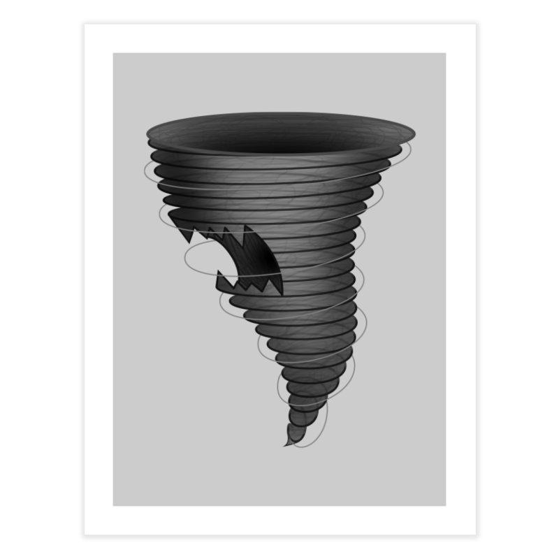 Predatornado Home Fine Art Print by Eriklectric's Artist Shop