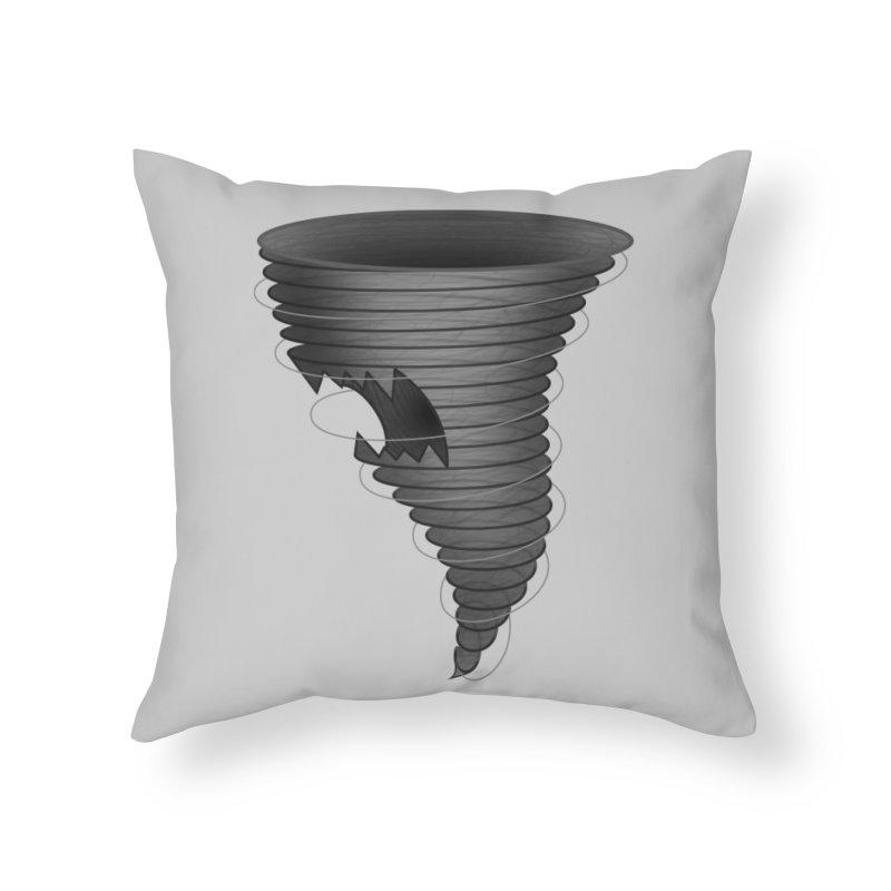 Predatornado Home Throw Pillow by Eriklectric's Artist Shop