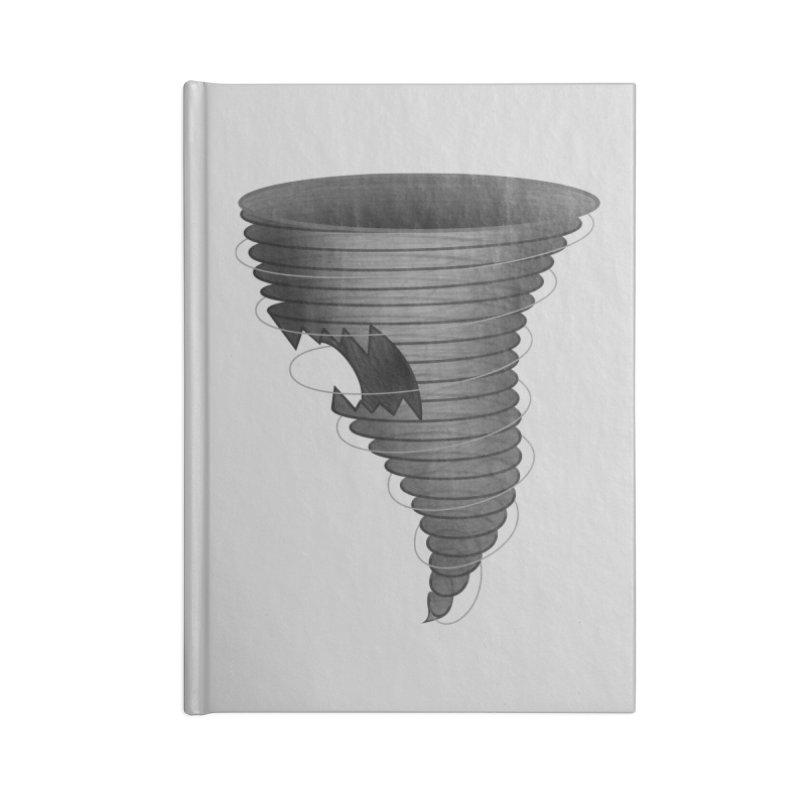 Predatornado Accessories Blank Journal Notebook by Eriklectric's Artist Shop