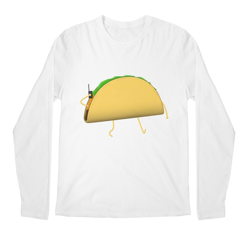 Walkie-Taco Men's Longsleeve T-Shirt by Eriklectric's Artist Shop