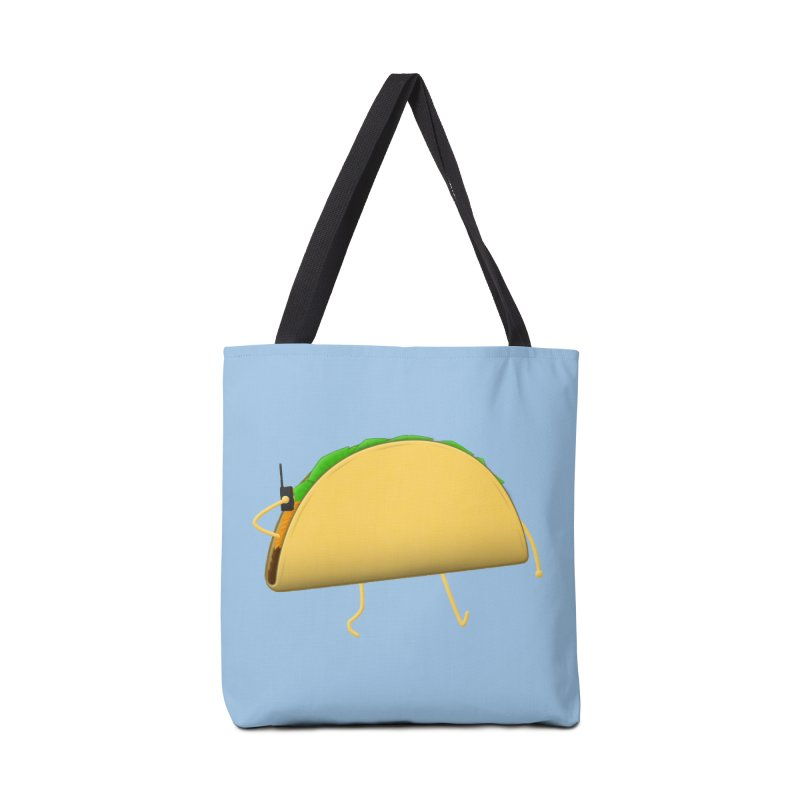 Walkie-Taco Accessories Bag by Eriklectric's Artist Shop