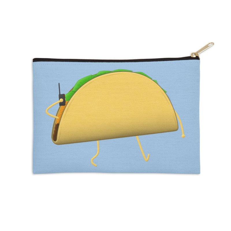 Walkie-Taco Accessories Zip Pouch by Eriklectric's Artist Shop