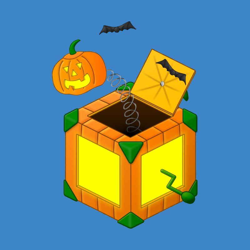 Jack-O-Lantern-In-The-Box Men's T-Shirt by Eriklectric's Artist Shop