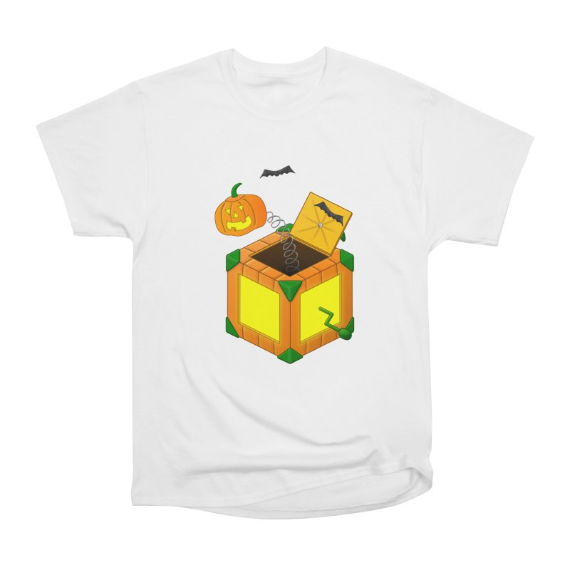 Jack-O-Lantern-In-The-Box Men's Classic T-Shirt by Eriklectric's Artist Shop