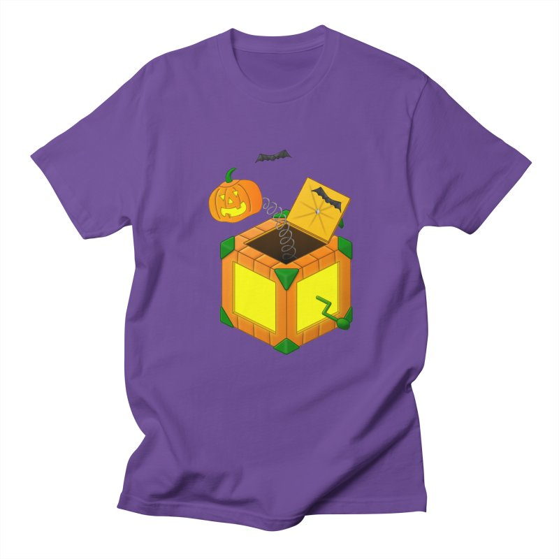 Jack-O-Lantern-In-The-Box Women's Unisex T-Shirt by Eriklectric's Artist Shop