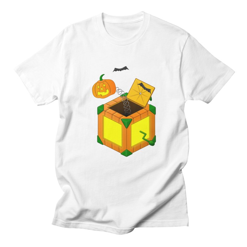 Jack-O-Lantern-In-The-Box Men's T-Shirt by Eriklectric's Artist Shop