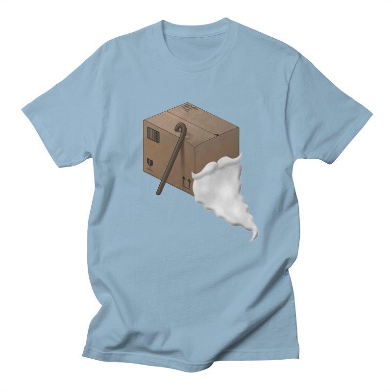 Pack-age Men's Regular T-Shirt by Eriklectric's Artist Shop