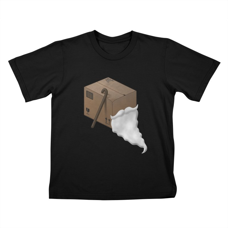 Pack-age Kids T-Shirt by Eriklectric's Artist Shop