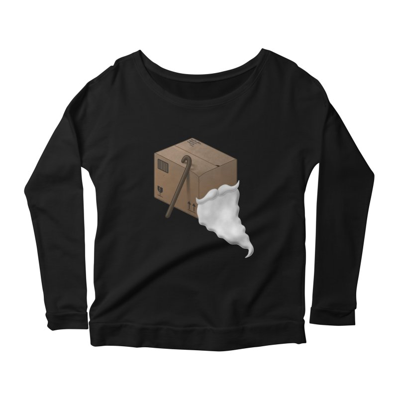 Pack-age Women's Scoop Neck Longsleeve T-Shirt by Eriklectric's Artist Shop
