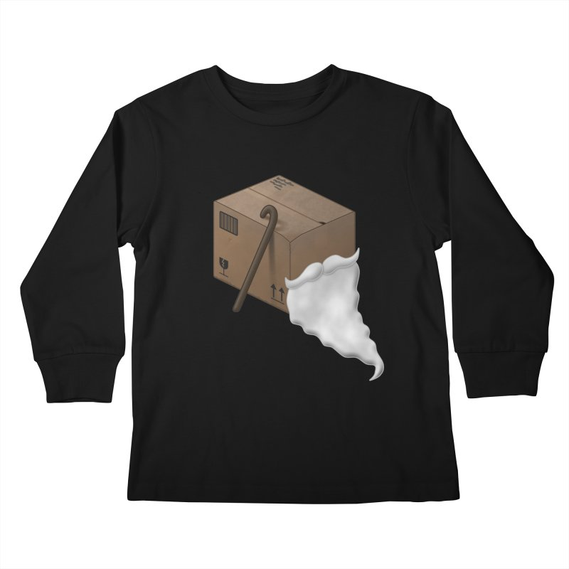 Pack-age Kids Longsleeve T-Shirt by Eriklectric's Artist Shop