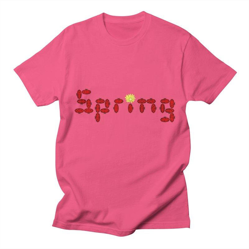 Ladybug Dominoes Women's Regular Unisex T-Shirt by Eriklectric's Artist Shop