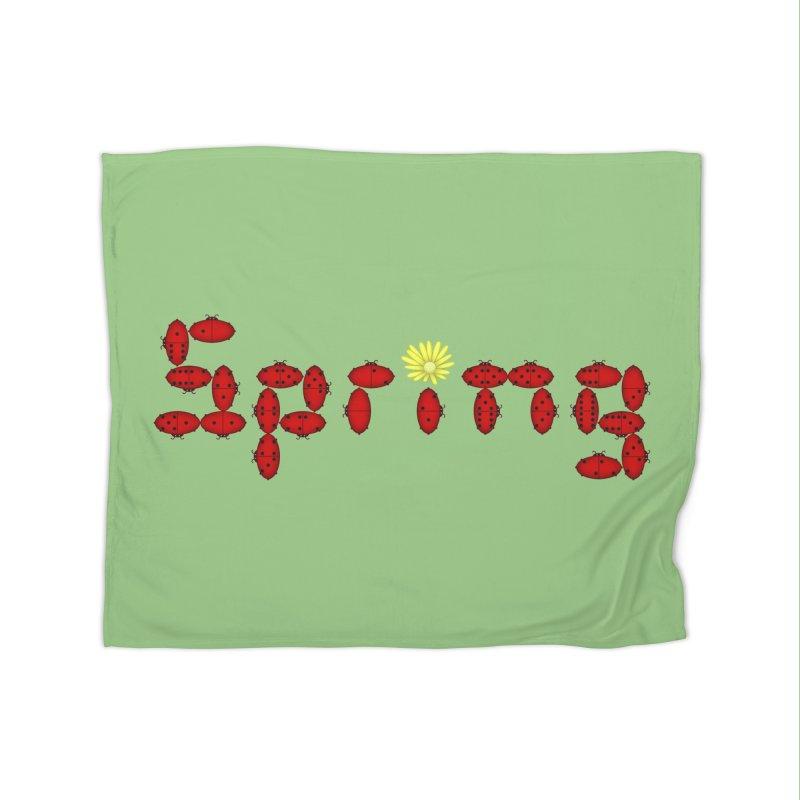 Ladybug Dominoes Home Blanket by Eriklectric's Artist Shop
