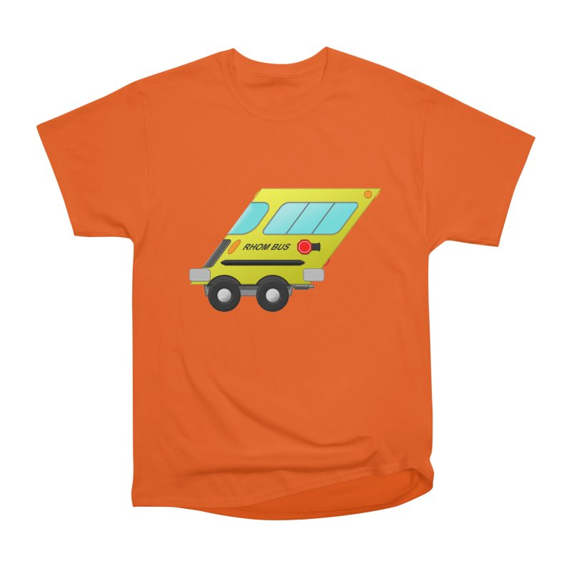 Rhom-bus Men's Heavyweight T-Shirt by Eriklectric's Artist Shop