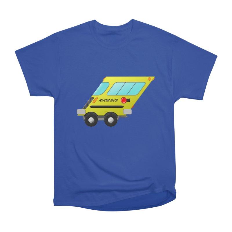 Rhom-bus Men's Heavyweight T-Shirt by Eriklectric's Artist Shop
