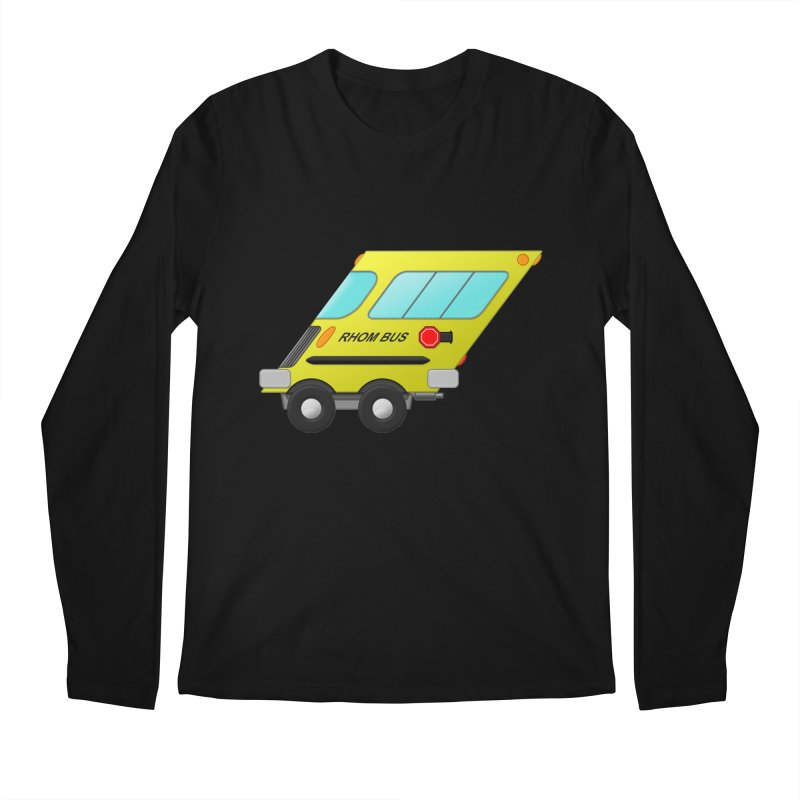 Rhom-bus Men's Longsleeve T-Shirt by Eriklectric's Artist Shop