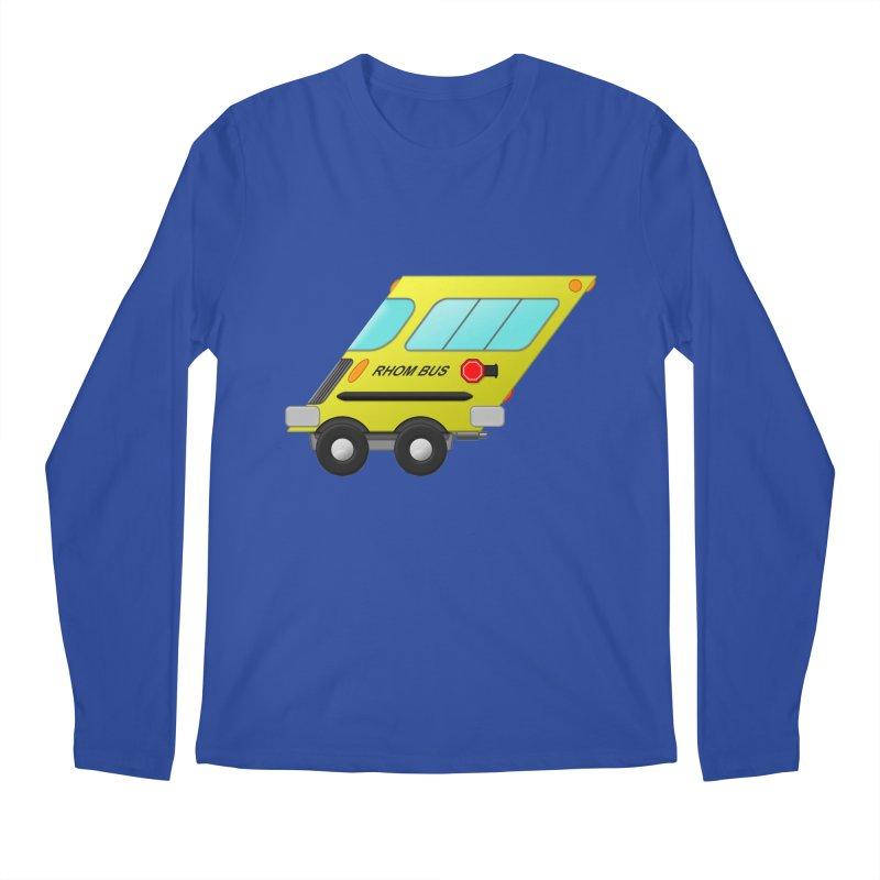 Rhom-bus Men's Regular Longsleeve T-Shirt by Eriklectric's Artist Shop