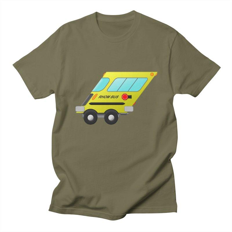 Rhom-bus Men's Regular T-Shirt by Eriklectric's Artist Shop