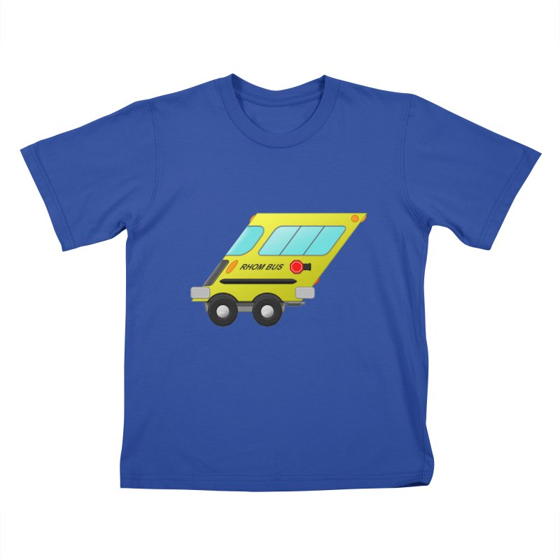 Rhom-bus Kids T-Shirt by Eriklectric's Artist Shop