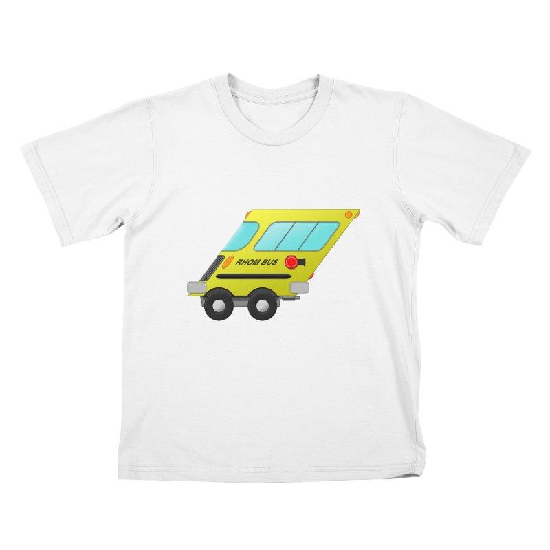 Rhom-bus Kids T-Shirt by Eriklectric's Artist Shop