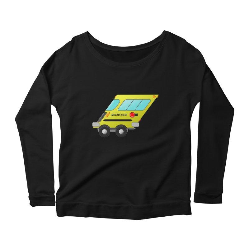 Rhom-bus Women's Scoop Neck Longsleeve T-Shirt by Eriklectric's Artist Shop