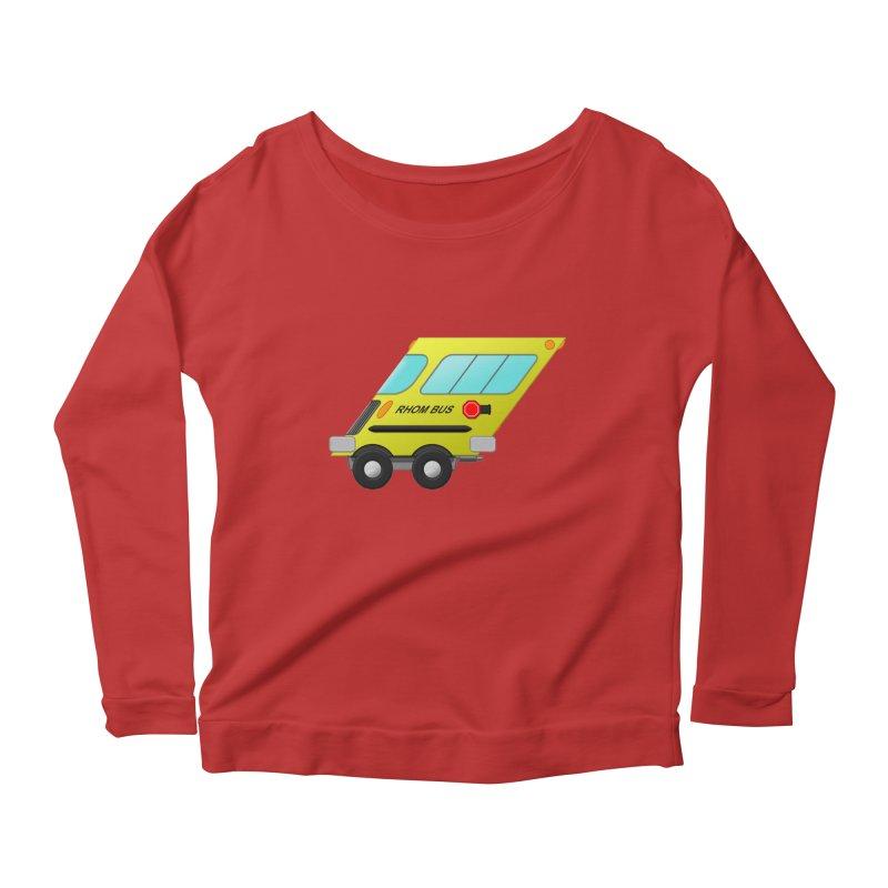 Rhom-bus Women's Longsleeve T-Shirt by Eriklectric's Artist Shop