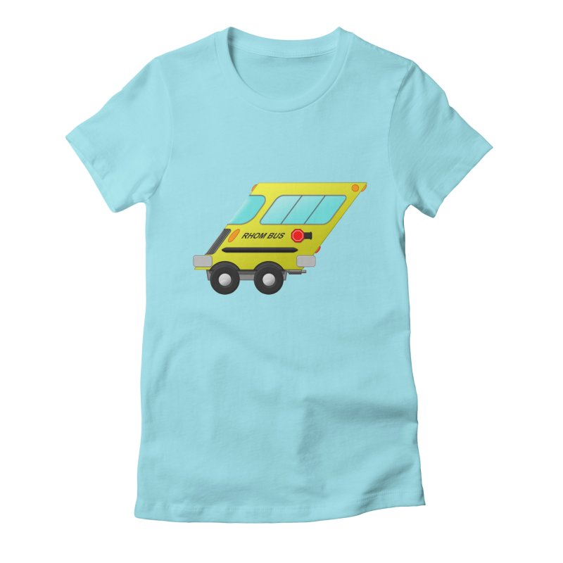 Rhom-bus Women's Fitted T-Shirt by Eriklectric's Artist Shop