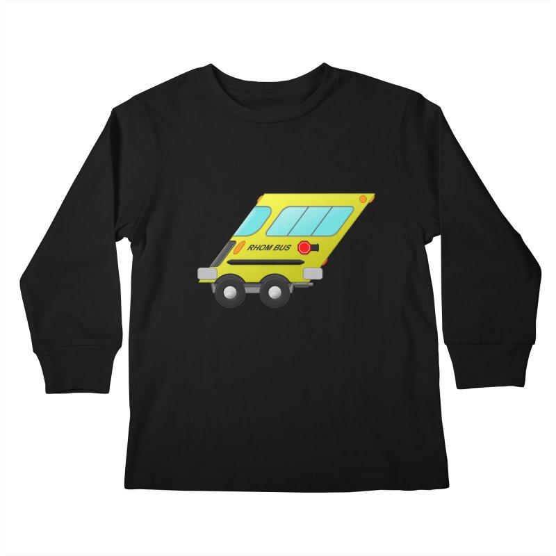 Rhom-bus Kids Longsleeve T-Shirt by Eriklectric's Artist Shop
