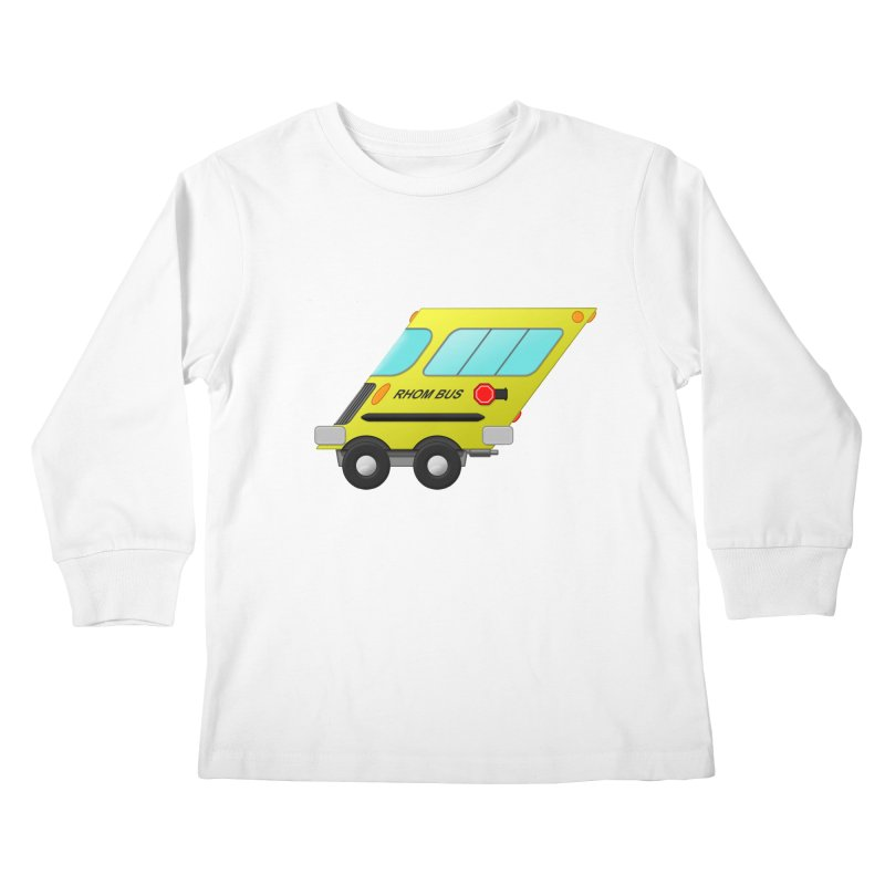 Rhom-bus Kids Longsleeve T-Shirt by Eriklectric's Artist Shop
