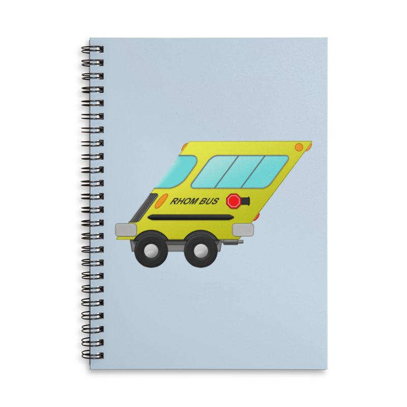 Rhom-bus Accessories Notebook by Eriklectric's Artist Shop