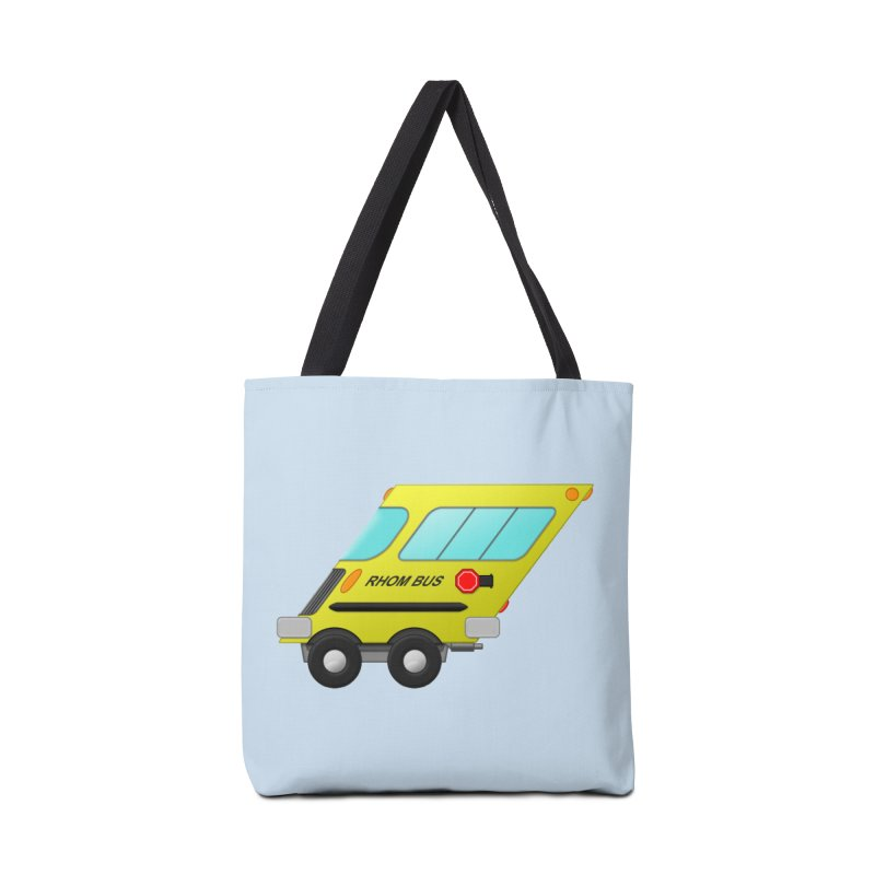 Rhom-bus Accessories Bag by Eriklectric's Artist Shop